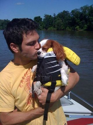 Photo of Chuck Wicks & his  Dog Lexi